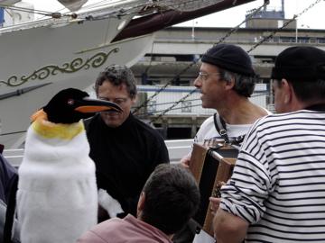 Chansons groupe et déambulation - Fêtes de la Mer Boulogne 2009