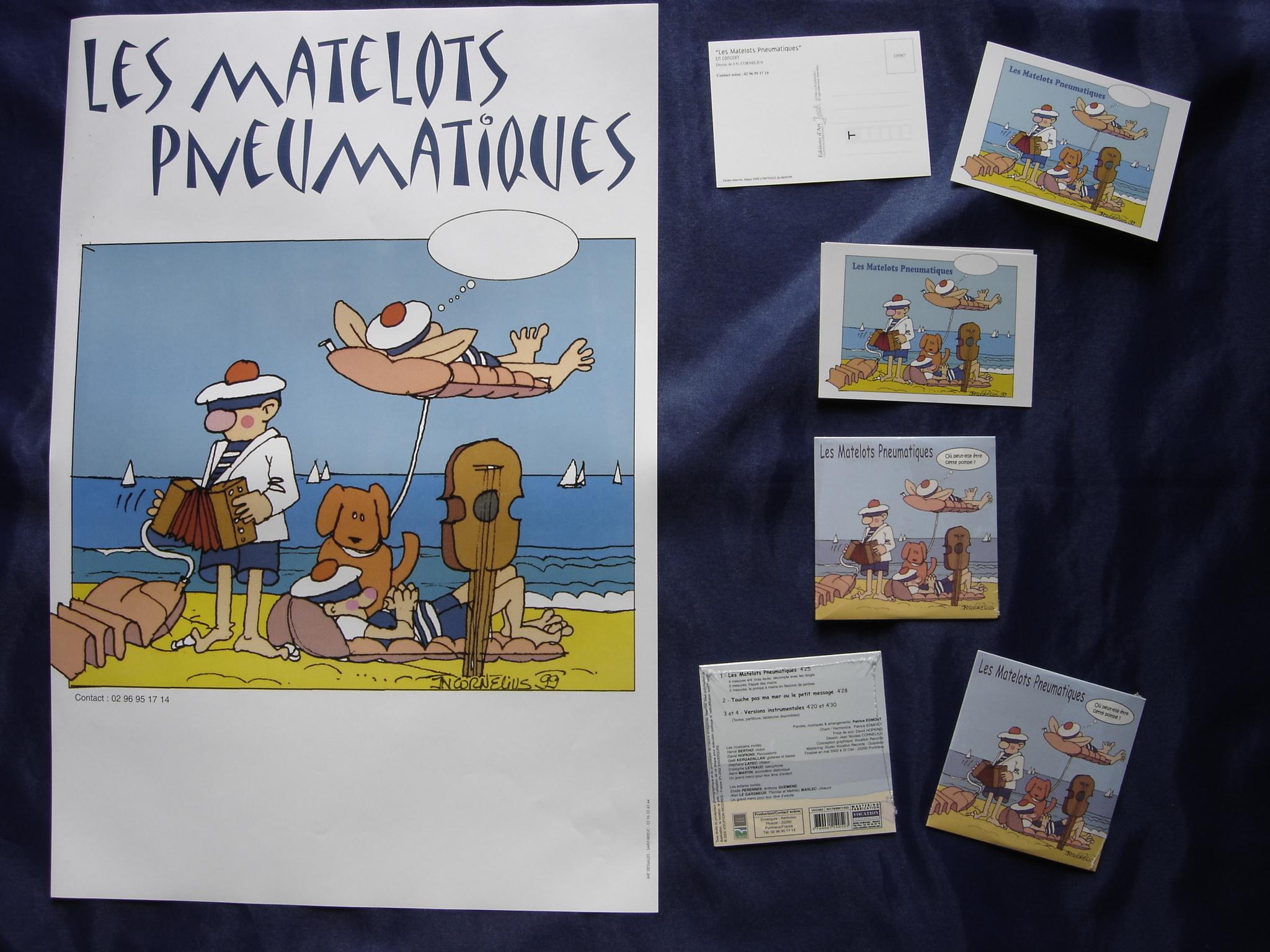 Affiche Carte CD
